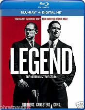LEGEND (2016) BLU-RAY - TOM HARDY - PAUL BETTANY - THE KRAYS