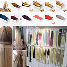 new Tape In Real Remy Human Hair Extensions Long Skin Weft Seamless 15-140gr