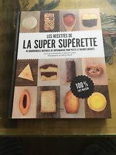Les recettes de la super superette de Lucie de la Hér...   Livre   état très bon
