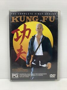 Kung Fu DVD - The Complete First Season 1 David Carradine Free Tracked Post