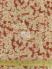 """CHERRY PICKLED ROSETTE BY WILMINGTON PRINTS 100% COTTON FABRIC 45"""" WIDTH FH-1362"""