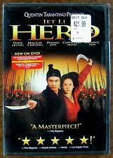 """""""Hero"""" (2002) ~ Jet Li - Tony Leung - Maggie Cheung ~ Dvd ~ Sealed"""