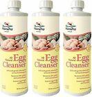 MANNA PRO-FARM (3 Pack) Egg Cleanser, 16 Ounces Per Bottle