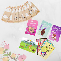 Baby Gift Bundle - Baby Milestone Cards and Baby Wardrobe Dividers Newborn Gift