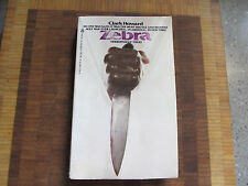 Zebra (79)Clark Howard RARE PB version Zodiac Killer SF/SLA Black Militants
