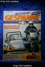 Motorrad Gespanne Nr.68 2/02 Honda XX Gespanne VN 800