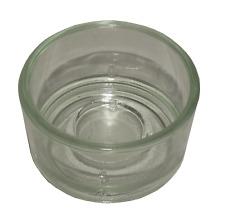 12-500 Teelichtgläser transparent Glas Teelichthalter rund Gartenparty Tischdeko