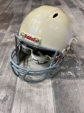 Riddell Youth Football Helmet White Used Small Chin Strap
