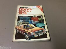 CHILTON'S TOYOTA 1970 TO 1979 REPAIR & TUNE UP GUIDE