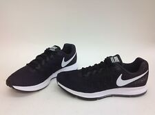 NIB MENS SIZE 10.5 NIKE AIR ZOOM PEGASUS 33 SNEAKERS BLACK 831352-001