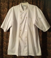 Chef Works Chef Coat White Short Sleeve Xl Vgc