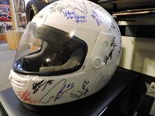 Helmet Autographed  Superbike  AMA / Motoamerica 2017 Tony Elias Josh Hayes+