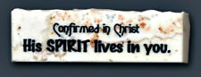 Holy Land Jerusalem Promise Stone - Confirmation His Spirit Lives In You GIFT!