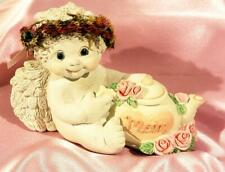 """Vintage Dreamsicles """"Tea Time"""" Mom Signed #10705 Mother's Day"""