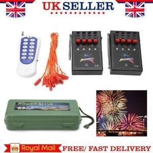 12-Cues Wireless Firework Firing System Remote Igniters Celebrate 3 Receivers