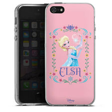 Apple iPhone 5 Silikon Hülle Case - Elsa