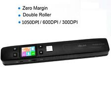 High Speed iScan Portable A4 Scanner for Document Photo Receipts Books1050DPI