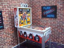 Kiss Miniature Pinball Table Model 1/12 Scale