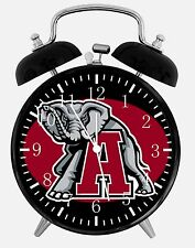 "Alabama Crimson Tide Alarm Desk Clock 3.75"" Room Decor X53 Nice for Gifts"