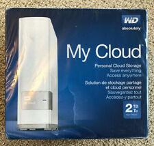 WD - My Cloud 2TB External Drive Cloud Storage -WDBCTL0020HWT-NESN - NAS - NEW