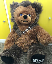 STAR WARS BUILD A BEAR CHEWBACCA COLLECTABLE SOFT TOY FOR STAR WARS/DISNEY FANS!