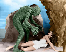 """Famous Monsters, Creature From the Black Lagoon Print 14 x 11"""""""