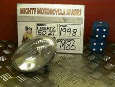 M86R31 PIAGGIO LIBERTY  50 HEADLAMP HEADLIGHT HEAD LIGHT LAMP + FREE UK POS