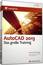 video2brain AutoCAD 2013 - Das große Training  DVD NEU