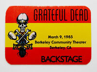 Grateful Dead Backstage Pass Berkeley California BCT CA 3/9/85 3/9/1985 Griffin