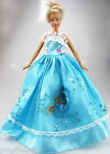 New Handmade Wedding Dress Clothes Outfits For Barbie Doll #747