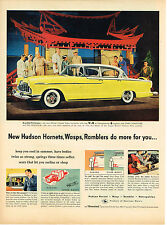 Vintage 1955 Magazine Ad Hudson Hornet Do More For You A Great Trade In Value