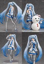 Max Factory figma EX-016 Character Vocal Series 01 Hatsune Miku Snow Miku Figure