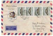 Sobre aéreo circulado España-EE.UU. 1965