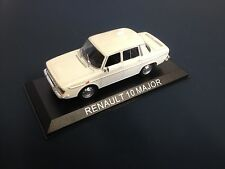 RENAULT 10 MAJOR VOITURE MINIATURE COLLECTION - R10 1/43 - IXO - BA57