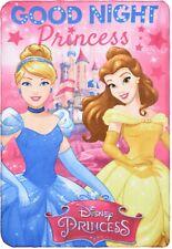 Disney Princess Girls Kids Blanket Throw Warm Fluffy Polar Fleece Plush