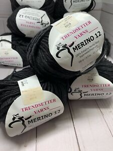 Trendsetter Merino 12 - 305 Charcoal DISCONTINUED