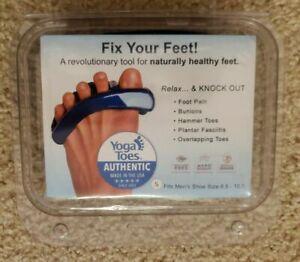 Original Yoga Toes Gel Toe Separators   Size Small   Shoe Size Men's 6.5 - 10.5