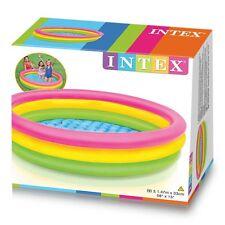 Piscinetta gonfiabile bambini colorata Intex nuova