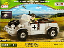 COBI VW Kübelwagen Type 82 (2187) - 150 elem. - WWII German military car