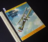 1960 Oct Vintage Model Airplane News USA Aeromodelling Hobby Magazine   (121)