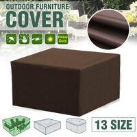 Large Waterproof Garden Patio Furniture Rain Snow UV Covers Rattan Set  /*/