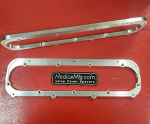 VALVE COVER ADAPTOR Ford 460 Valve Covers on Cadillac 472, 500 Heads