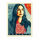SIGNED LIMITED EDITION SCREEN PRINT REBIRTH BY Shepard Fairey Obey Giant x/450