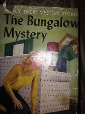 Nancy Drew 1959 THE BUNGALOW MYSTERY Collectible Hardcover W D J HTF GOOD #3
