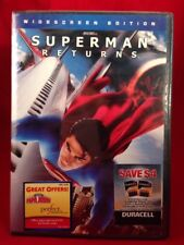 Superman Returns (DVD 2006, Widescreen Edition) BRAND NEW, SEALED.