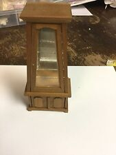 Dollhouse Miniature Tiered Older Cabinet