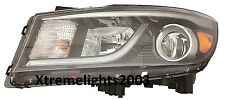 FITS KIA SEDONA 2015-2016 LEFT DRIVER HEADLIGHT HEAD LAMP LIGHT W/O LED