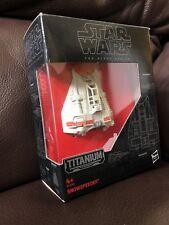Guerra DE LAS GALAXIAS la serie Negros Titanio Snowspeeder Nº 17 nuevos y en caja (2)