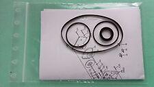Riemen Nakamichi RX-505 RX-505E Kassettendeck Cassette Tape Deck Idler/Belt-Kit