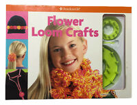 American Girl Library Flower Loom Crafts, w/ Manual, NOS
